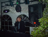 dj james in the mix at a recent disco